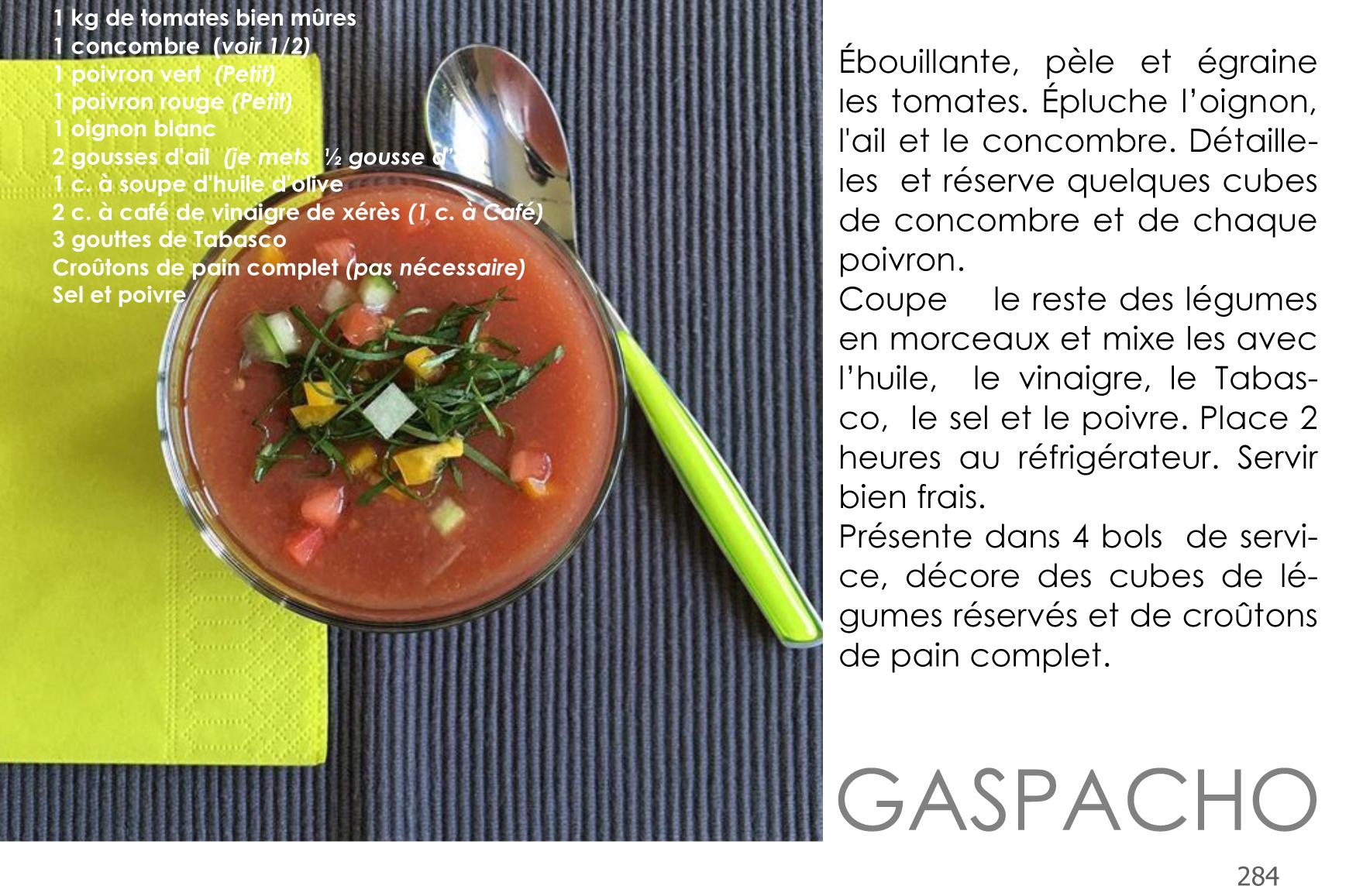 284 Gaspacho Andalou
